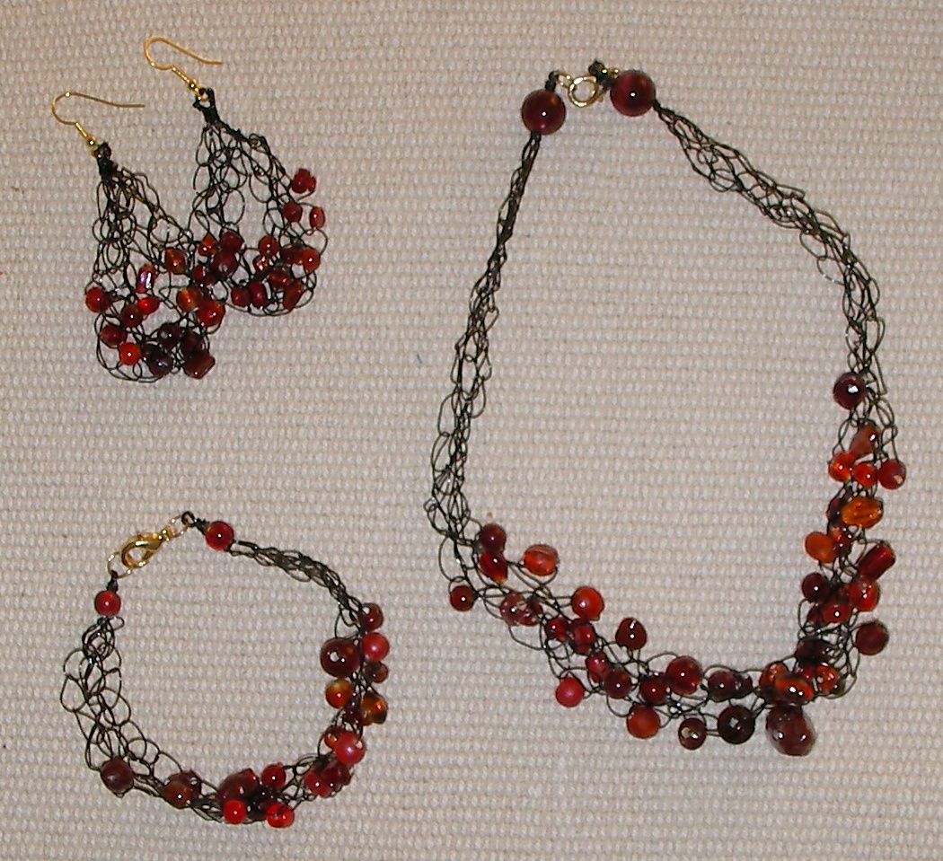 Bead Crochet Necklace Pattern Crochet Guild