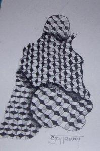 Zentangle 8-09-2009