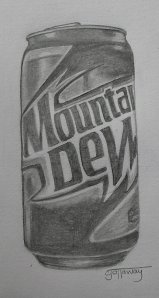 Mtn. Dew can