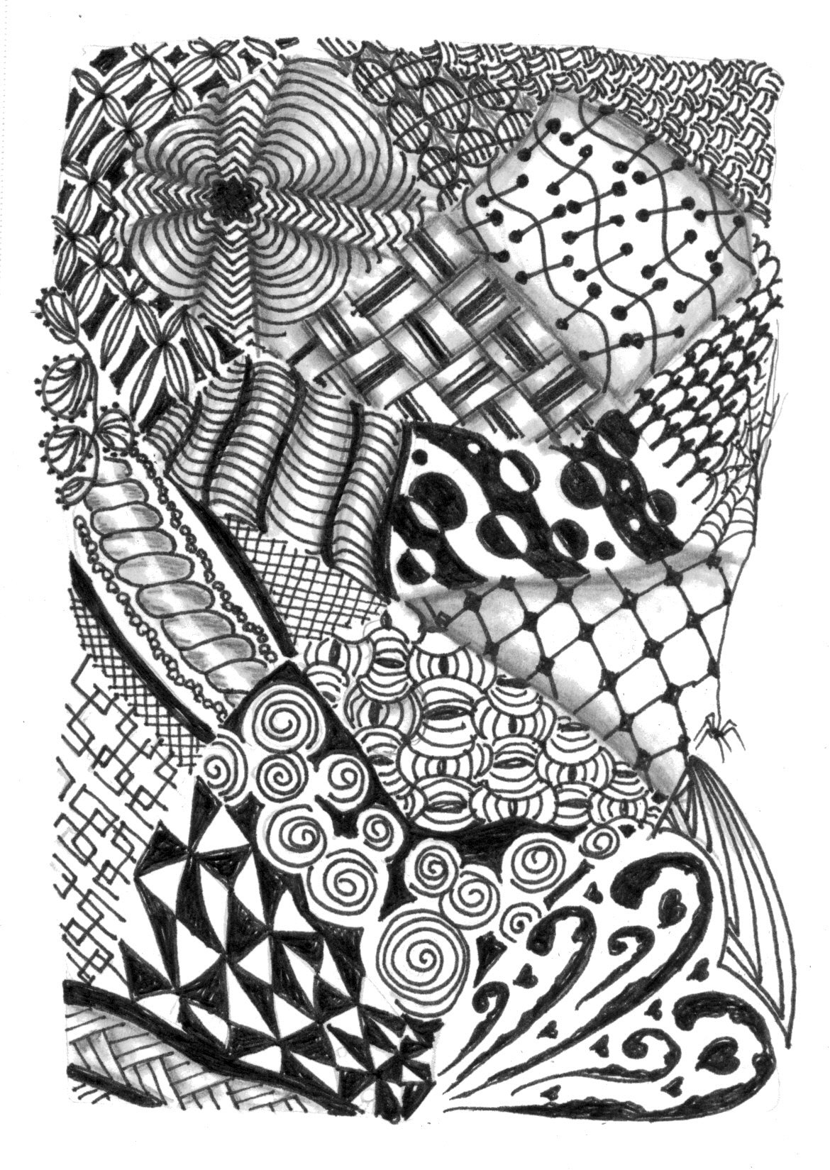 Animal Zentangle Patterns This Little
