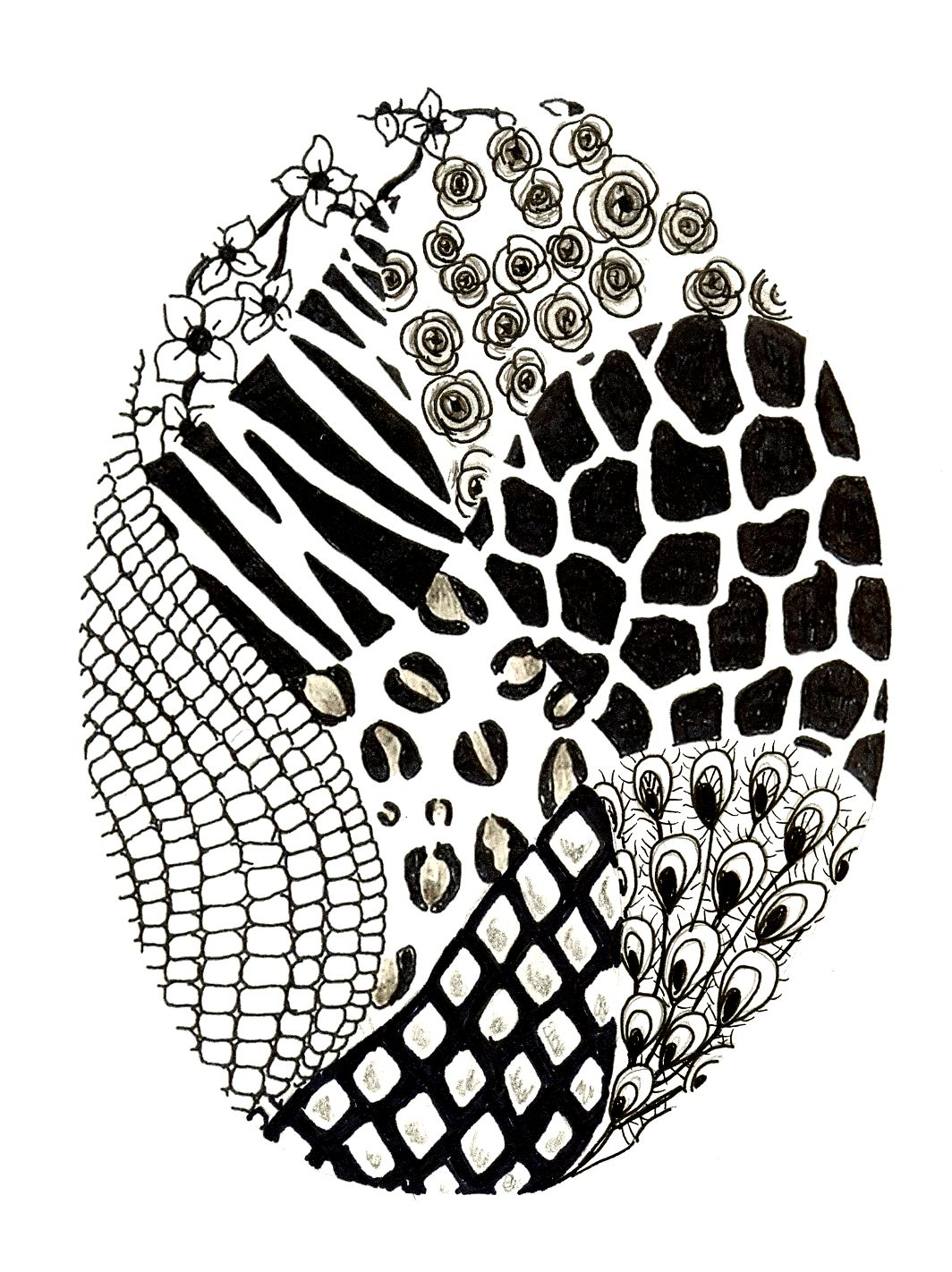 Easy Zentangles Patterns Images amp Pictures Becuo